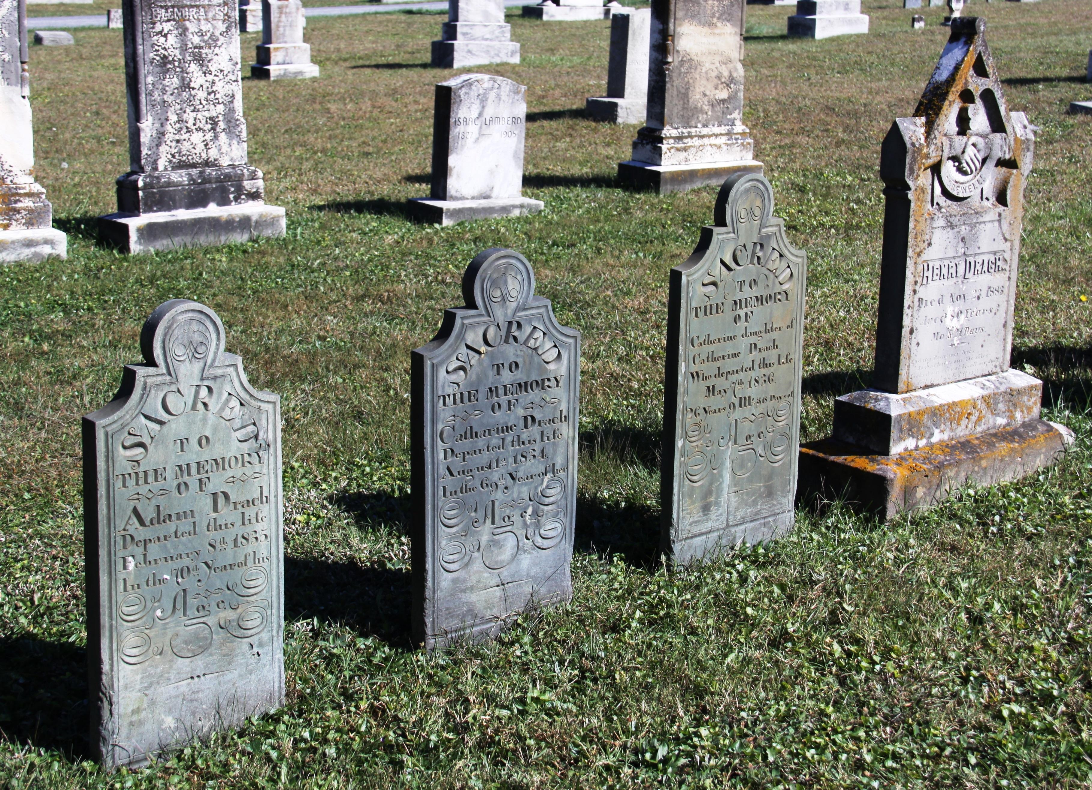 Hammond tombstones