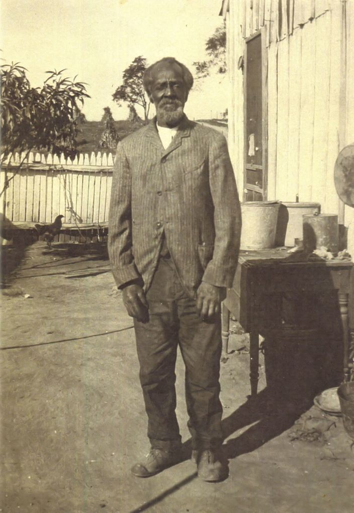 Black and white photo of former slave Jeremiah Summers