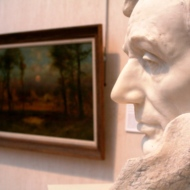 "Turmoil frozen in marble: Borglum's ""Head of Abraham Lincoln"""